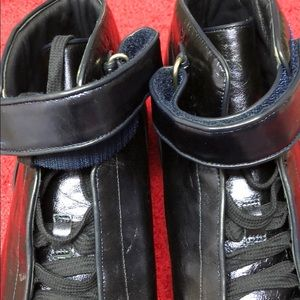 Gucci Shoes - Men's GUCCI leather high top sneakers Indigo.